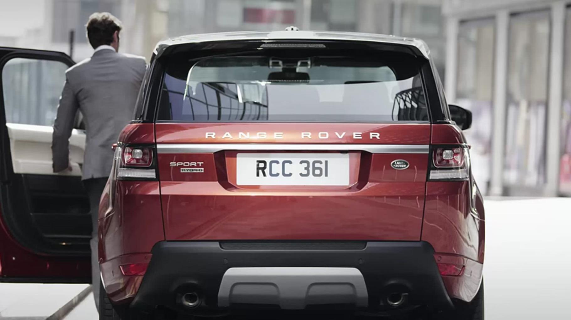 SUV segmentinde dünyada ilk olan Range Rover Hibrit Detayları