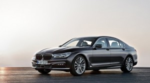 BMW 7-series with all the details
