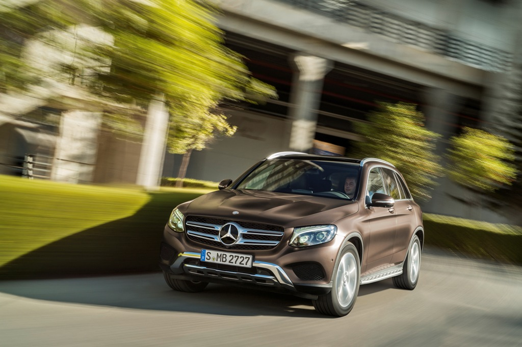 MERCEDES-BENZ GLC TANITILDI - Mercedes-Benz GLC world premiere