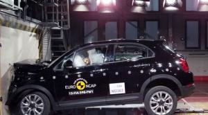 Fiat 500X Euro NCAP testlerinde 4 yıldız aldı