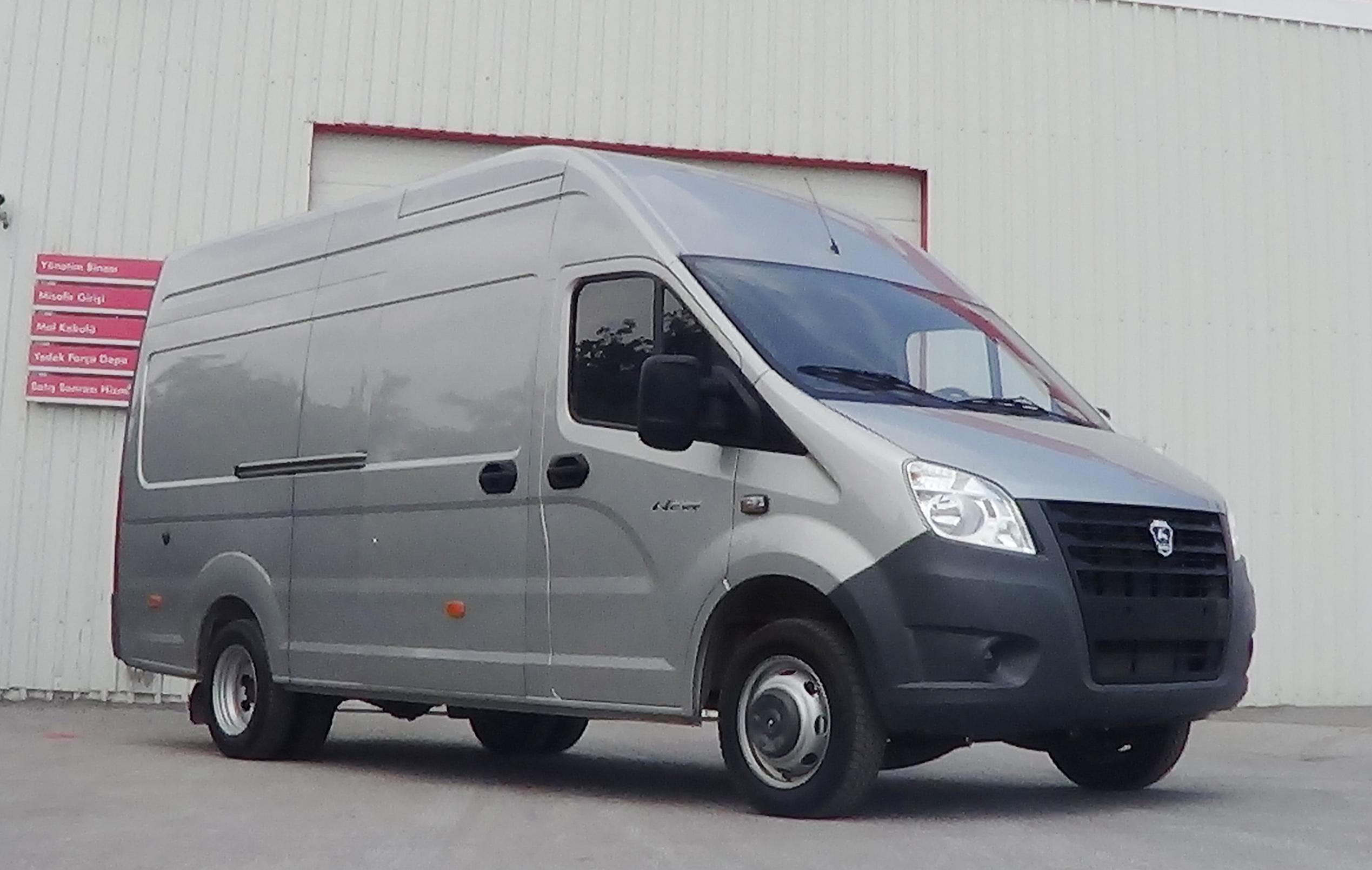 GAZ Türkiye'de Panelvan ve Minibüs Üretimine Başlıyor