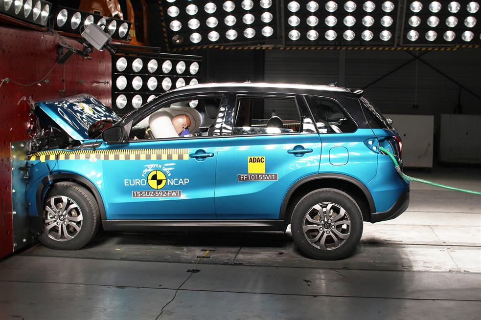Suzuki Vitara Euro NCAP testlerinden 5 yıldız aldı