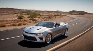 2016 Chevrolet Camaro Convertible Photo Gallery