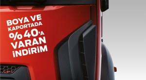 Ford Trucks boya ve kaporta işlemleri yılsonuna kadar indirimli