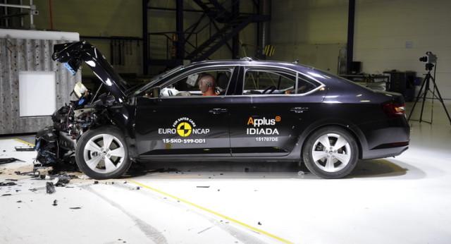 Skoda Superb Euro Ncap Crash Test