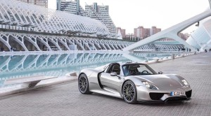 The Porsche 918 Spyder's Lightweight Technology