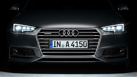 die audi matrix led scheinwerfer im audi a4. Black Bedroom Furniture Sets. Home Design Ideas