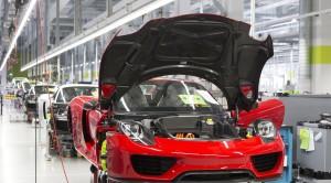 Porsche 918 Spyder manufactory