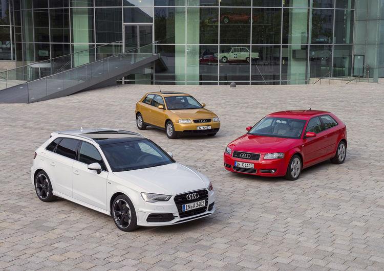 Audi A3 celebrates 20th anniversary