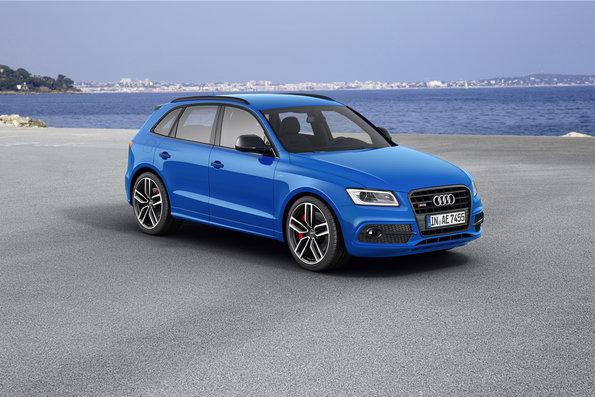 The Audi SQ5 TDI plus with 340 HP