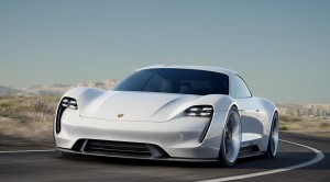 First battery-powered four-seat concept car from Porsche