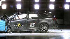 Euro NCAP Crash Test of Toyota Avensis 2015