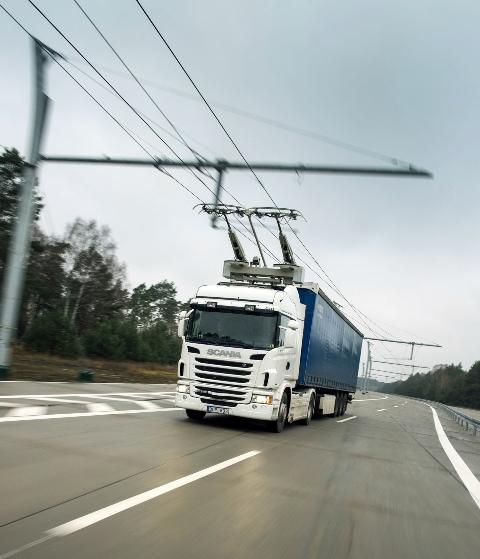 Scania elektrikli arac