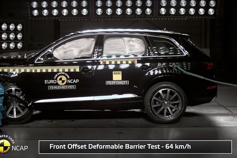 5 yıldızlı Audi Q7 – Five stars for Audi Q7 in Euro NCAP crash test