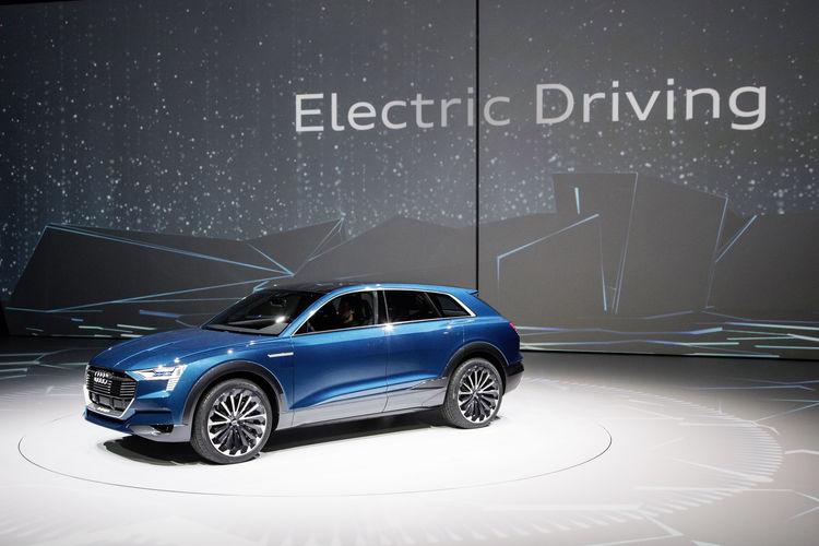 Audi e-tron quattro concept at the IAA