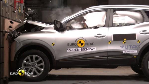 Euro NCAP Crash Test of Renault Kadjar