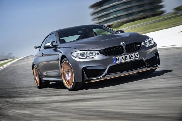 The new BMW M4 GTS 500 hp sports car