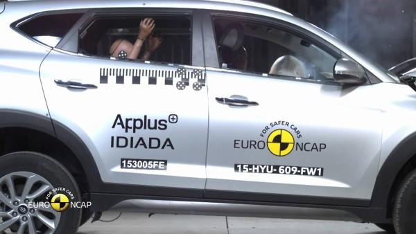 Hyundai Tucson Euro Ncap Crash Test