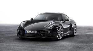 All in black: Porsche Cayman Black Edition