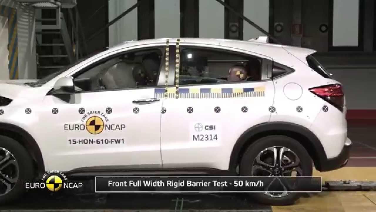 2015 Honda HR-V Euro NCAP Crash Test