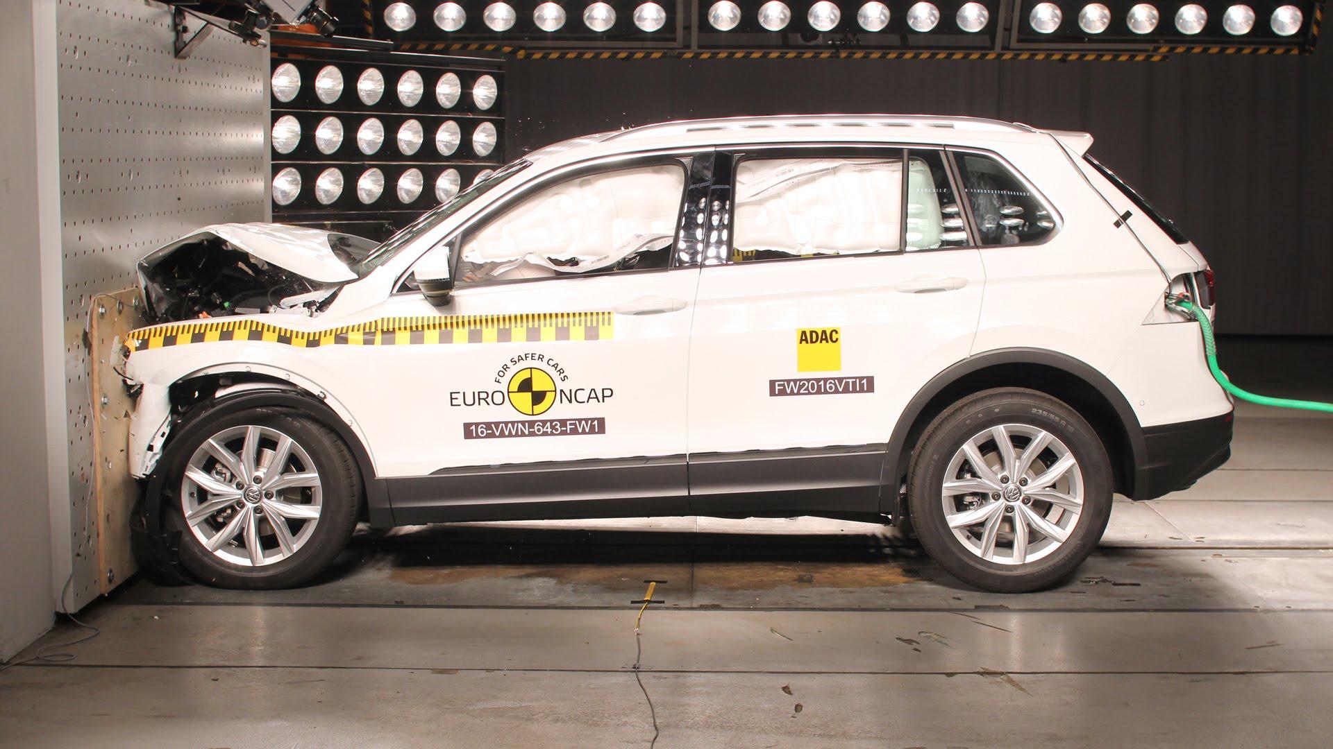 Volkswagen Tiguan 2016 Crash Test