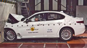 Alfa Romeo Giulia Crash Test