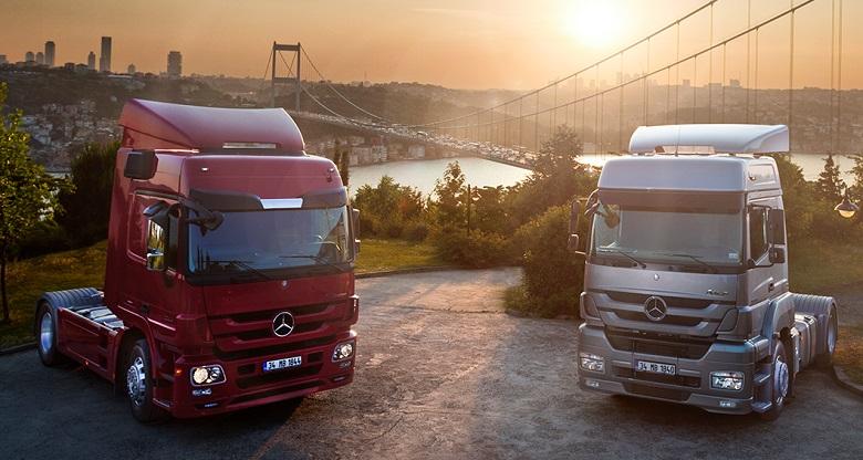 mercedes benz kamyon bakim 2021 ocak