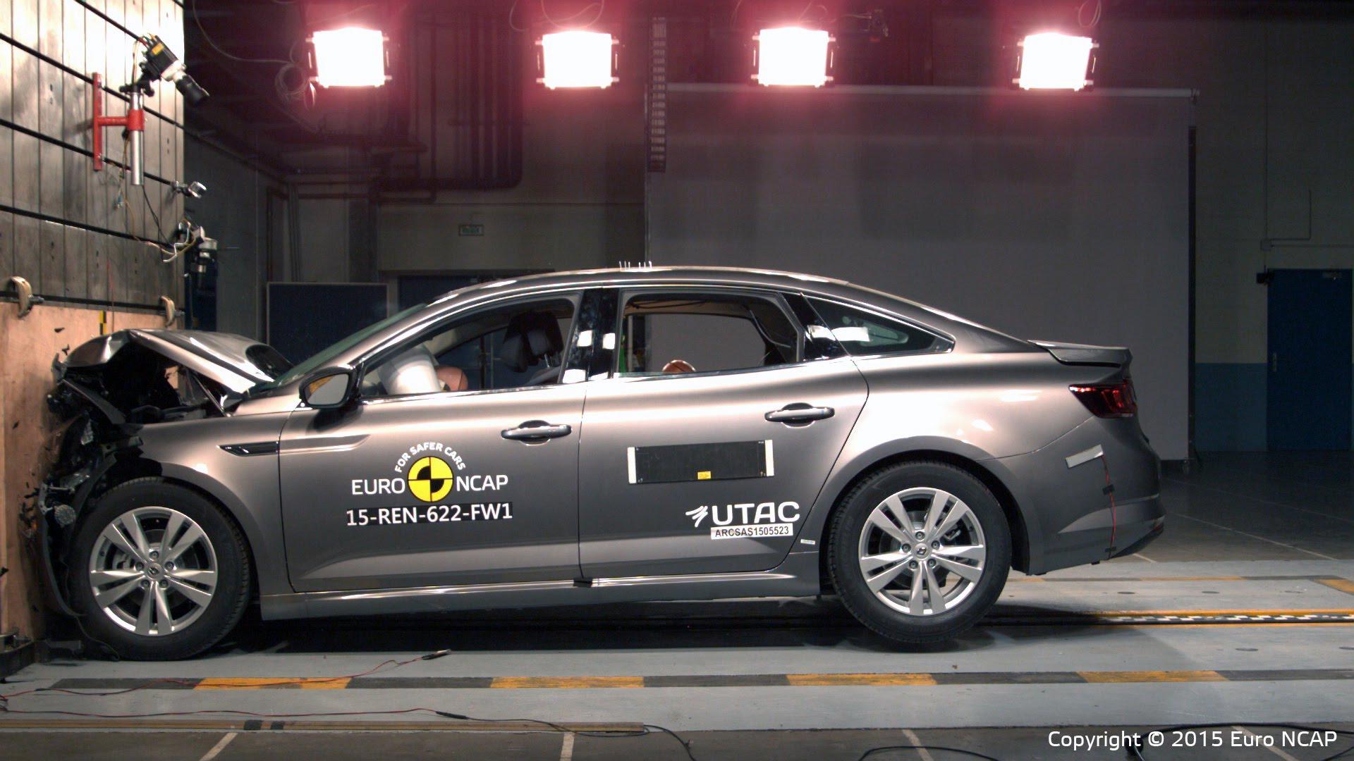 Renault Talisman Crash Test