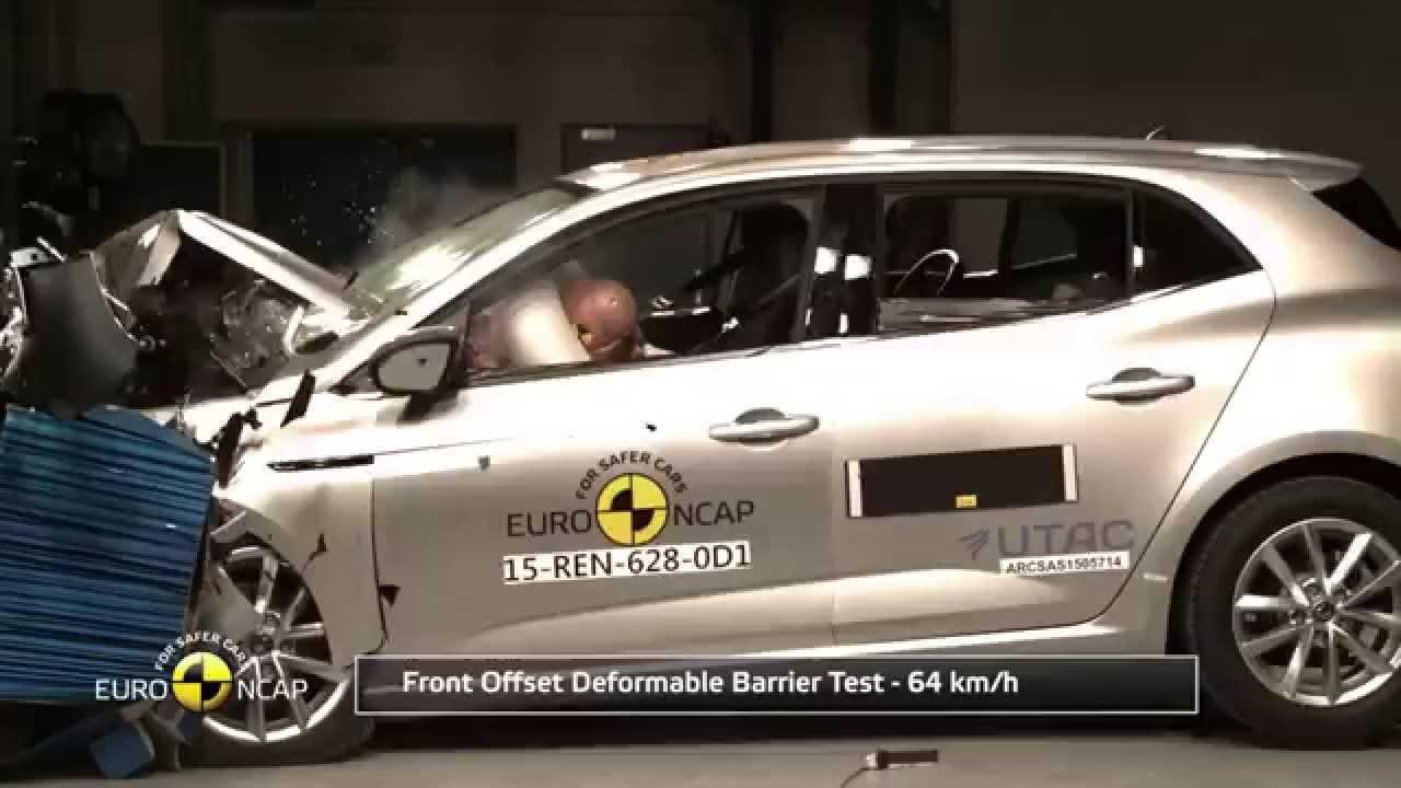 Renault Megane Crash Test
