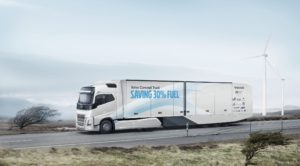 Volvo Konsept Kamyonu'nun Lastikleri Continental'den