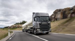 Yeni Scania Yolda