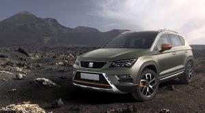 Seat'ın Yeni SUV'u Ateca Off-Road Karakterli Haliyle Paris Fuarı'nda