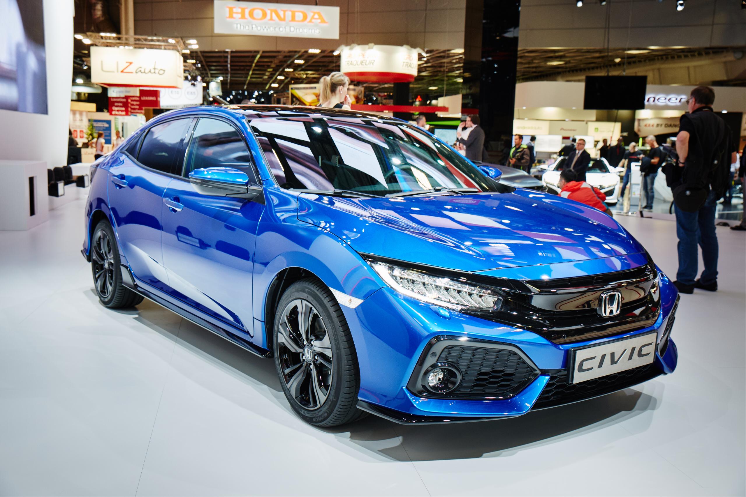 Honda Civic Sedan'ın Avrupa Prömiyeri Paris'te Yapıldı