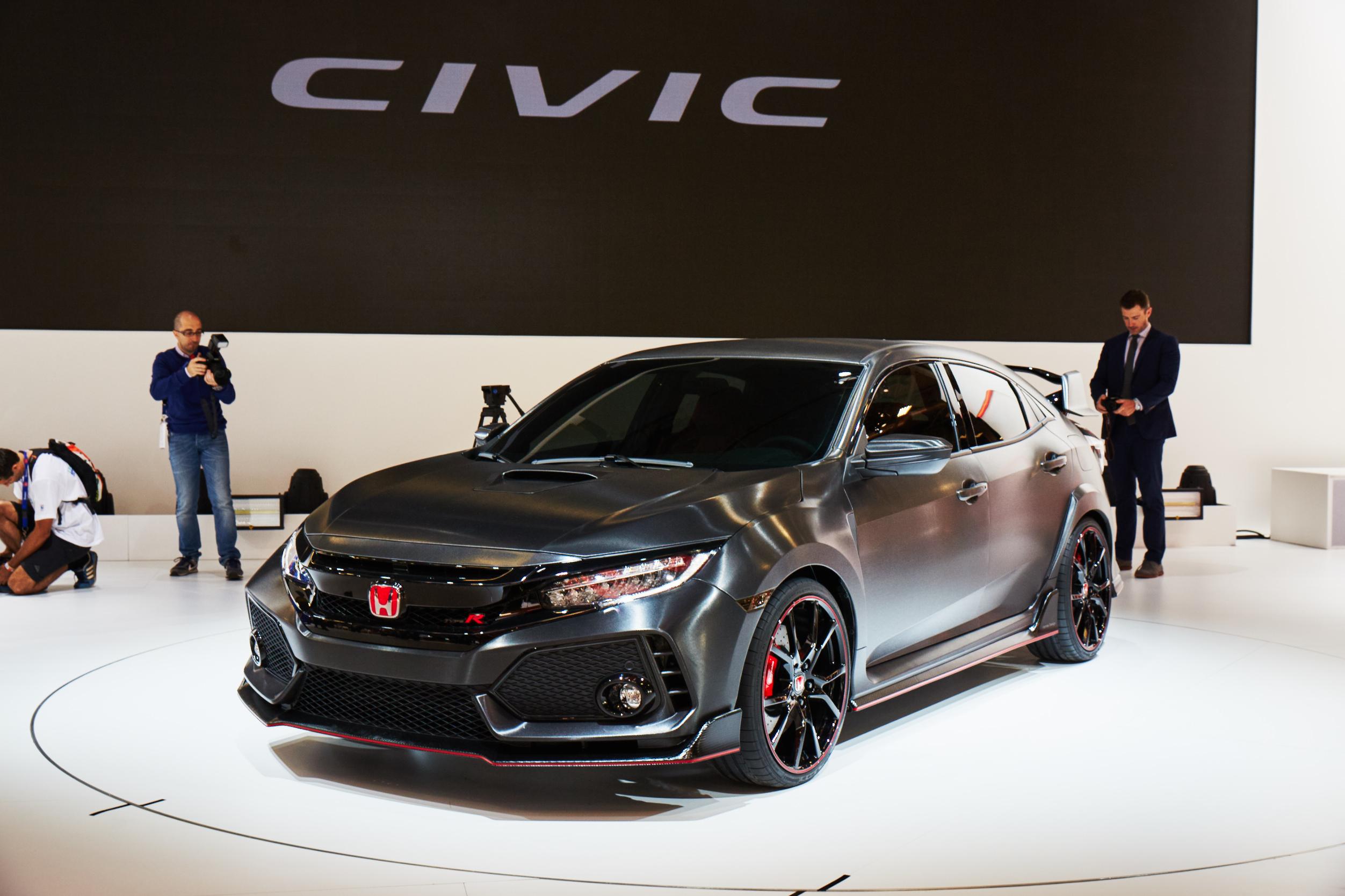 Paris Motor Show'da Honda'nın Sürprizi: Civic Type R Prototipi