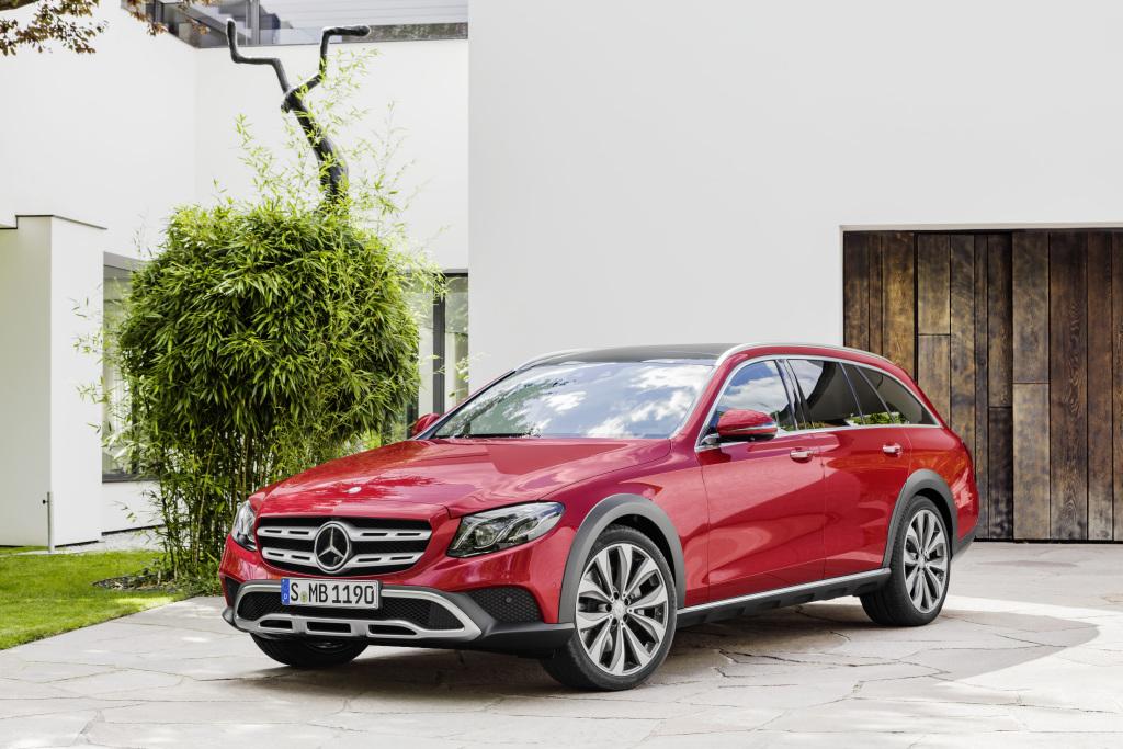 New Mercedes-Benz E-Class All-Terrain