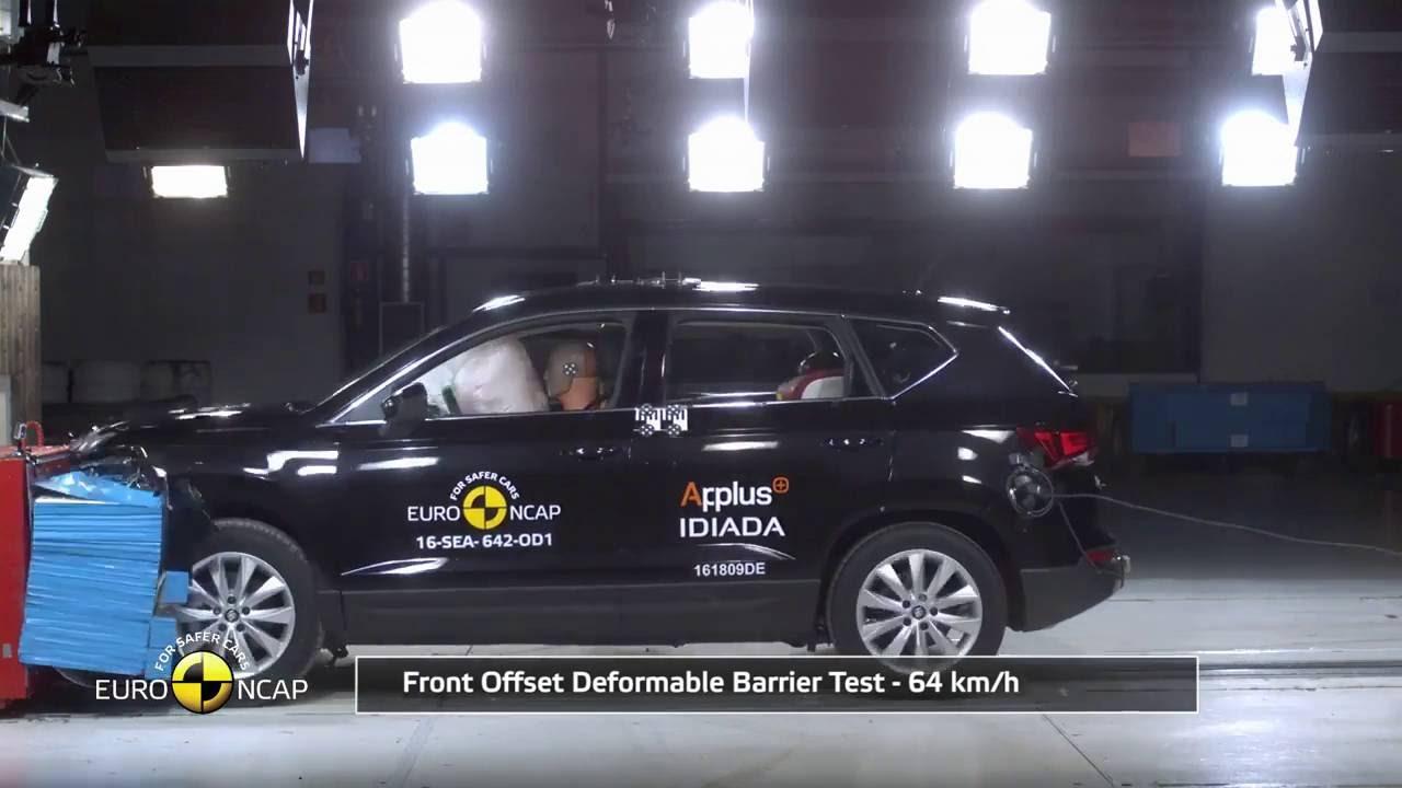 Euro NCAP Crash Test of Seat Ateca