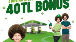BP-Garanti işbirliğiyle 4 kez 100 TL'lik yakıt alımına 40 TL'ye kadar bonus