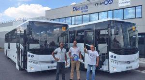 TEMSA son 2 ayda Fransa'da 45 otobüs teslimatı gerçekleştirdi