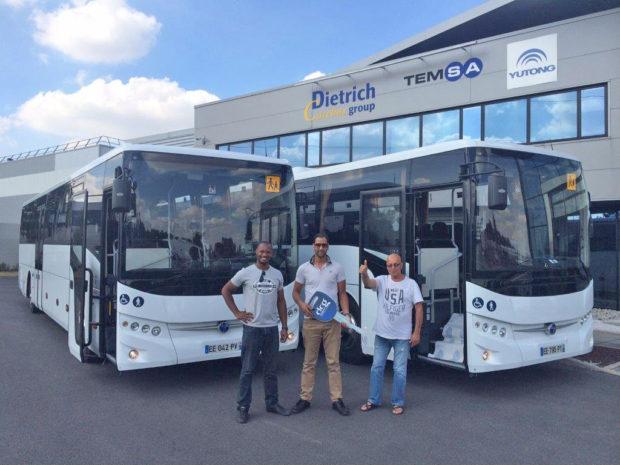Temsa, ürünlerinin en çok bulunduğu ülkelerin başında gelen Fransa'da son 2 ayda 45 okul otobüsünü daha müşterileri ile buluşturdu.