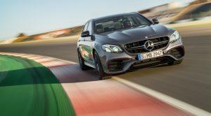 Mercedes-Benz AMG E63 S 4matic Driving Scenes Racetrack