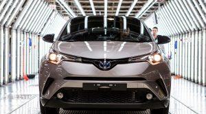 Toyota C-HR Sakarya'daki Fabrika'nın Üretim Bandından İndi