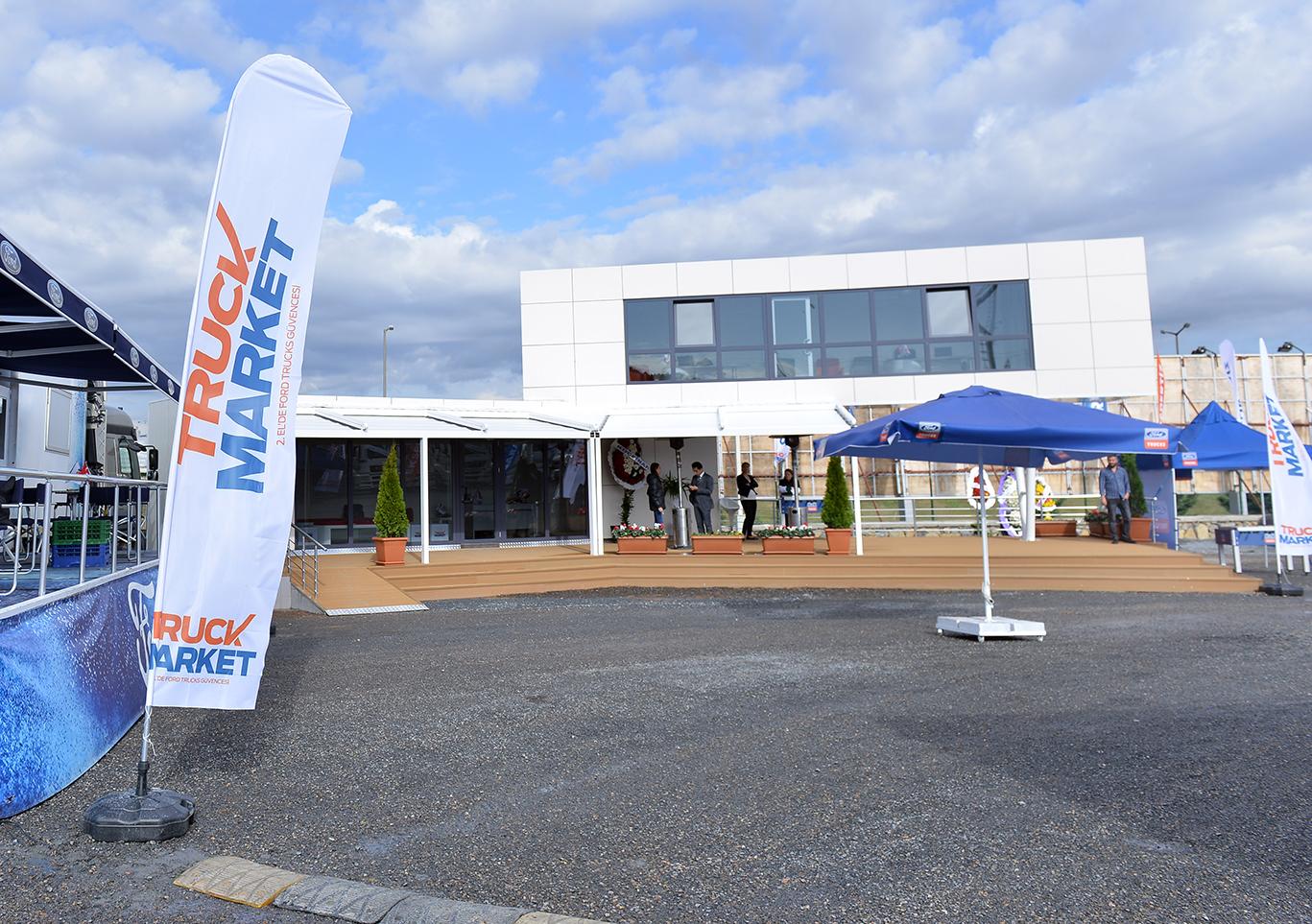 Ford Trucks'ın 2. El Markası TruckMarket Sancaktepe'de Merkezi Satış Noktası Açtı