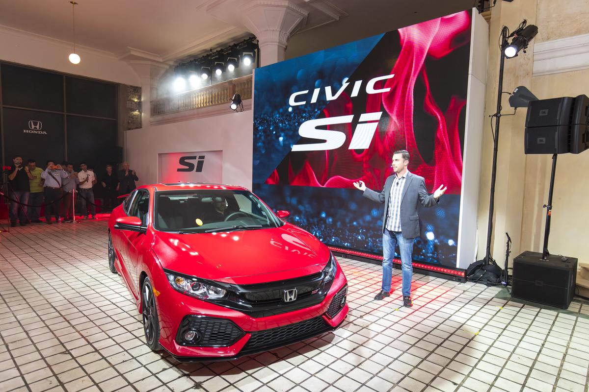 Honda Civic Si Prototype Press conference in Los Angeles Auto Show