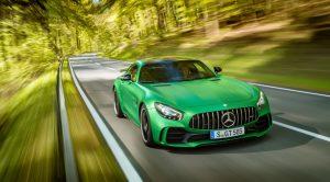 Mercedes-AMG'nin süper spor otomobili Mercedes-AMG GT R yollara çıktı