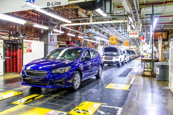 Fuji Heavy Industries Ltd. (FHI), the manufacturer of Subaru automobiles, announcing the start of production of the all-new 2017 Subaru Impreza in its U.S. plant, Subaru of Indiana Automotive Inc. (SIA).