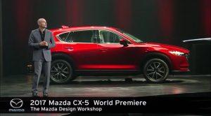 2017 Mazda CX-5 2016 Los Angeles Autoshow World Premiere Presentation