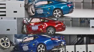 Chevrolet Camaro, Ford Mustang and Dodge Challenger Crash Tests