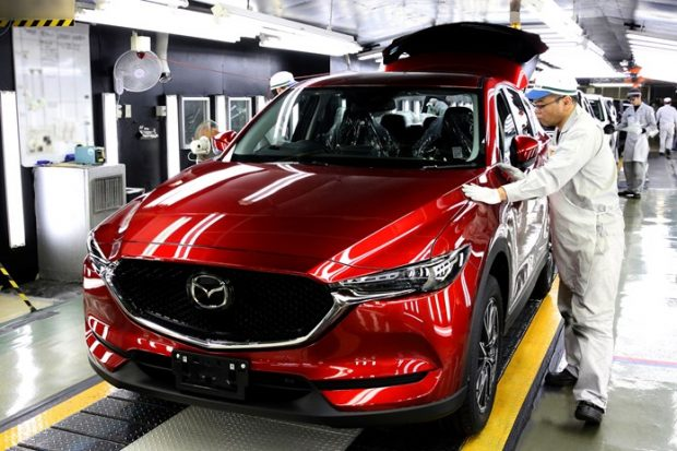 Mazda started production of the all-new Mazda CX-5 yesterday at Ujina Plant No. 2 near the company's global headquarters in Hiroshima.