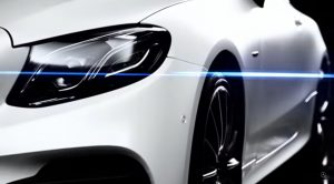 New Mercedes-Benz E-Class Coupe Teaser