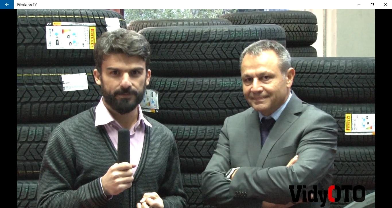 Kış Lastiği ile İlgili Tüm Detayları Pirelli Pazar Kalite ve Eğitim Müdürü Oktay Ginalli Anlatıyor